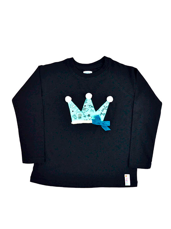 Girl Crown Glow in the Dark T-Shirt.