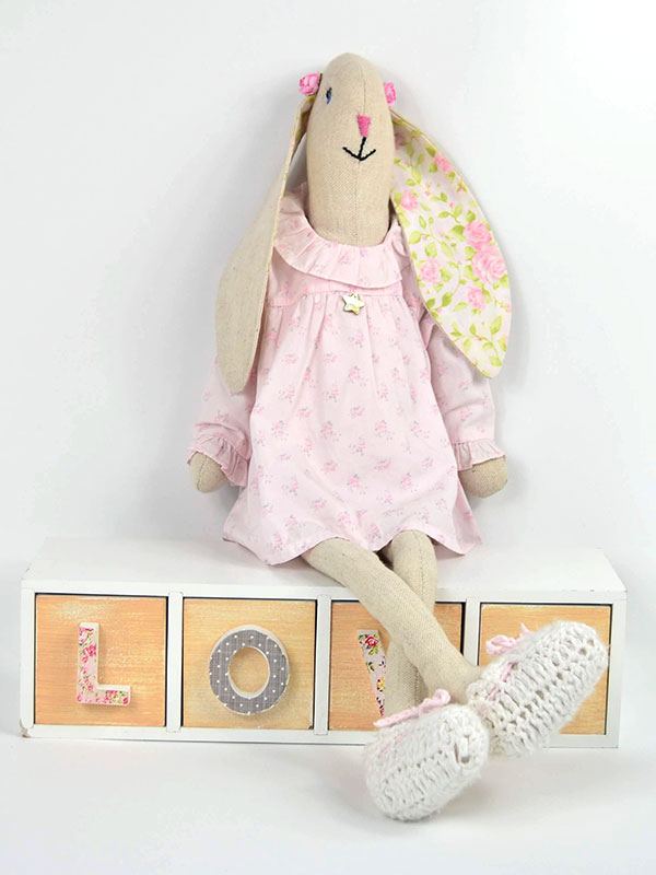 Baby Rabbit plush toy 60 cm, 100% custom design and exclusive for you