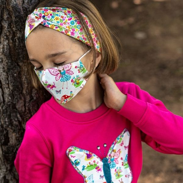 Kids Face Mask (3-10 years old) – Reusable & 100% Eco-Premium